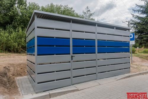 Wiata śmietnikowa Schowek Trashbox 5x25m